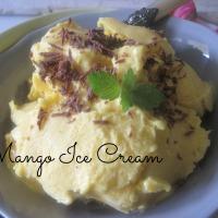 Nesramno dober mangov sladoled