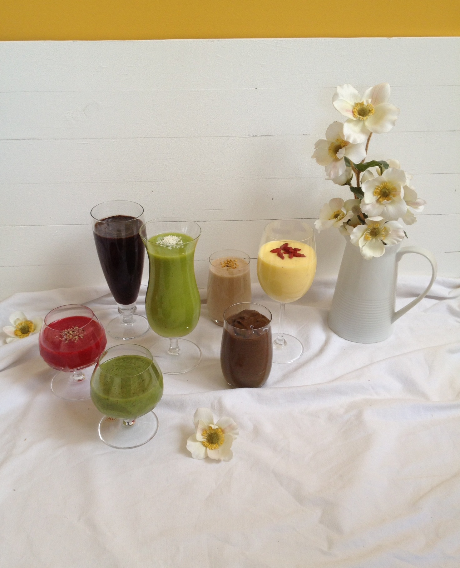 Pisani smoothiji za vse dni vtednu
